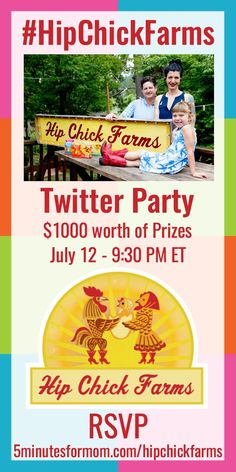 Hip Chick Farms Twitter Party