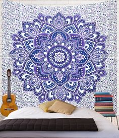 Purple Wall Tapestry December 2017