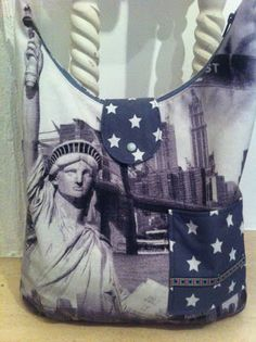 NY Tasche, Alles drin, selbstgenäht