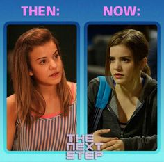 Then and now of Riley♥ She's an amazing dancer and I want to be just like her when I grow up