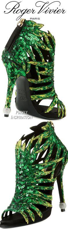 Roger Vivier Paillette Palm Sandal | Purely Inspiration