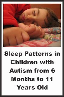 Your Therapy Source - www.YourTherapySource.com: Sleep Patterns in Children with Autism