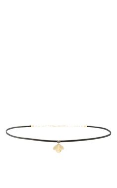 Jeweled Bug Choker with Citrine and Black Diamonds by ANNETTE FERDINANDSEN for Preorder on Moda Operandi