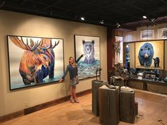 What do you think? Bear Paintings, Original Paintings, Fine Art Gallery, Park City, Galleries, Wildlife, Animal Illustrations, The Originals, Utah