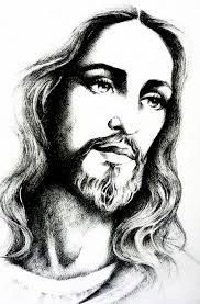 Image result for jesus black and white tattoo