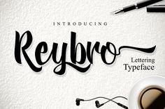 Reybro - Free Font of The Week from FontBundles.net