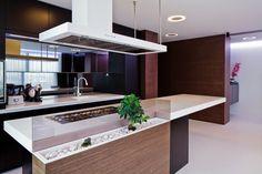 Decor Salteado - Blog de Decoração e Arquitetura : 30 Bancadas de cozinhas gourmet – inspire-se em modelos lindos e modernos!