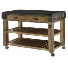 Hammary Furniture Co Portable Kitchen Island Products In 2019 Kitchen Island With Granite Top, Kitchen Island Cart, Kitchen Islands, Kitchen Carts, Rustic Kitchen Island, Kitchen Cabinets, Small Portable Kitchen Island, Floating Kitchen Island, Island Bench