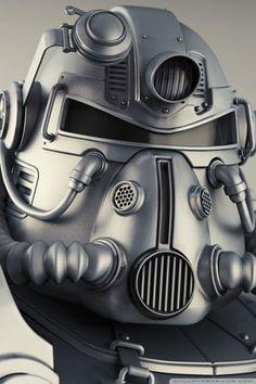 fallout 4 power armor wallpaper 640x960