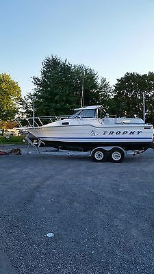 Boats Bayliner Capri Ft Cuddy Cabin With Trailer Needs - Blue fin boat decalsblue fin sportsman need some advice pageiboats