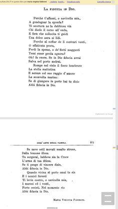 Le poesie di Maria Virginia Fabroni sui libri scolastici del 1800