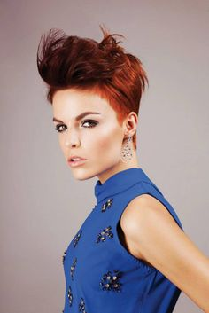 Stunning colour and cut. Find a salon www.hairscope.co.za