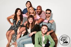 Comic-Con Exclusive portraits from EW's studio Agents Of Shield Seasons, Marvels Agents Of Shield, Marvel Funny, Marvel Dc, Marvel Jokes, Natalia Cordova, Captain America Films, Henry Simmons, Agents Of S.h.i.e.l.d