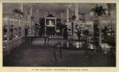 1919 Milinery shop
