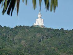 The Big Buddha in Phuket - Thailand .. Fantastic sight.. Jan. 2012.