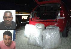 #LEIAMAIS  WWW.OBSERVADORINDEPENDENTE.COM NOVA FÁTIMA: Policia Rodoviária Federal prende dois homens com cerca de 50 kg de maconha próximo