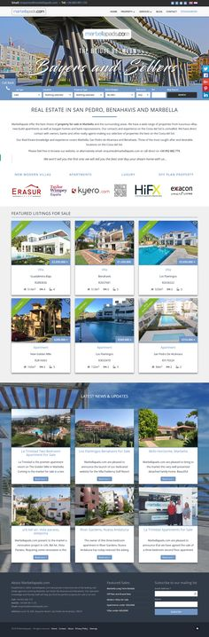 MarbellaPads are a real estate company offering a wide choice of property for sale in Marbella and the surrounding areas. Their range of properties includes luxurious villas, new build apartments and bargain properties/bank repossessions.