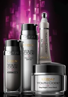 L'Oreal Youth Code Skincare.  This product works very well for me.