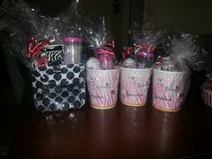 "Gift Basket idea  Pink Zebra's Sprinkles can be mixed together in what we call a ""recipe"" to create hundreds of different scents.  To see all of our products go to: www.sprinklingmakesmehappy.com or   To contact me on our products or joining my team: amywatson@sprinklingmakesmehappy.com"