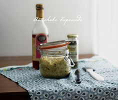 Healthy Snacks: Artichoke Tapenade #artichokes #spreads