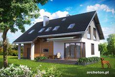 Projekt domu Skarbek Rex (E-1203)