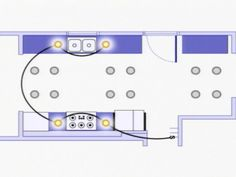 image result for pictures of recessed lighting on different height ceilings