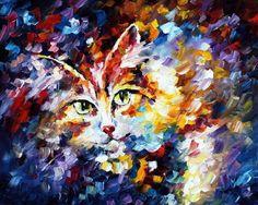 Cat - Leonid Afremov