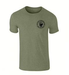 TRIBAL LAW BAMBOO BLEND T SHIRT - COMBATANT GREEN