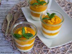 Mango Quark Schichtdessert Rezept schnell Dessert im Glas