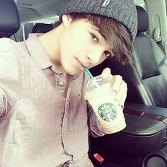 Brent Rivera and Starbucks. My life is complete