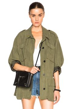 Image 1 of Smythe Army Jacket in Surplus
