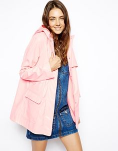 ASOS - Trench imperméable ultra brillant