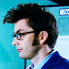 """""""Lookit me, I'm the Doctor and I look clever in my glasses."""""""