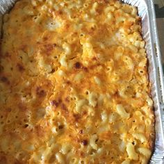 "Macaroni and Cheese Southern Style I ""I made this for my sons football team, I made over 40 servings and it was all gone! Great and easy recipe, the best I have found!"""