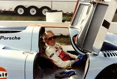 Paul Newman sitting in 917