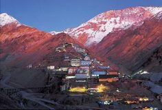 Ciudad minera de Sewell, Chile