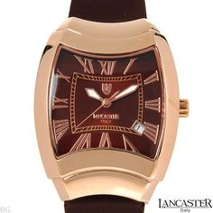 LANCASTER MADE IN ITALY BRAND NEW LADIES QUARTZ ROSE COLOR FRAME WATCH REF0325 #lancaster #LuxuryDressStyles #Sale 30% #OffMarkdownPrice!!! #GreatGift!!!