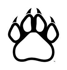 black panther paw print tattoo clipart free clip art images harrah pinterest paw print. Black Bedroom Furniture Sets. Home Design Ideas