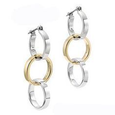 Tiffany Outlet Tri-circle Earrings