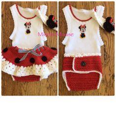 Crochet baby outfit made by  Buttercup Crochet Designs BluebirdDesignz