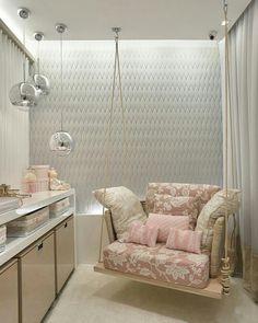 Inspiração ♡ #interiores #design #interiordesign #decor #decoração #decorlovers #archilovers #inspiration #ideias #dormitóriodebebê #quartodebebê #bedroom #babyroom #quartodemenina