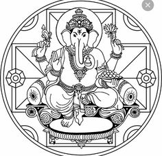14 Best mpm images in 2017   Lord ganesha, Colouring in