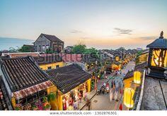 베트남 호이안:관광객들에게 가장 매력적인 호이안 고대 스톡 사진(지금 편집) 1302876301 Nile River, Red River, China Beach, Old Fort, Pyramids Of Giza, Great Wall Of China, Seven Wonders, Modern City, Da Nang