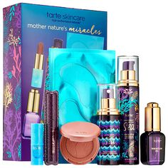 Shop tarte's Mother Nature's Miracles Discovery Set at Sephora. It has seven, iconic vegan skincare and makeup favorites.