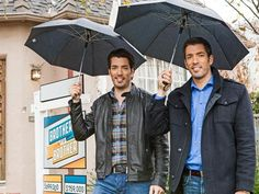 Drew & Jonathan Scott of HGTV Brother vs Brother - Home and Lifestyle Design