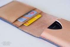 Leather phone case tutorial for Holly