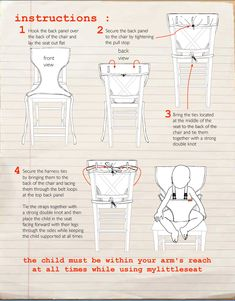 Image result for pattern for fabric high chair