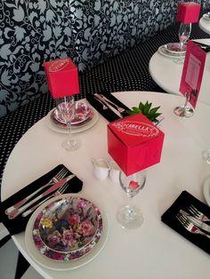 Isabella's Cake & Food Shop table setting. New Menu, Menu Items, Freshly Baked, Deli, Table Settings, Sweets, Baking, Cake, Shop
