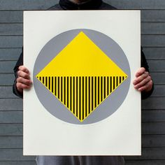 Circled Square Print 19x24, $250, now featured on Fab.