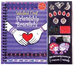Wicked Cool Friendship Bracelets (Klutz) -spider, bat theme-cute for a Halloween craft
